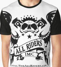 AR Native Skull White Graphic T-Shirt