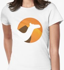 Apache Camel Women's Fitted T-Shirt