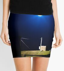 Nightly Lit Brick Box Mini Skirt