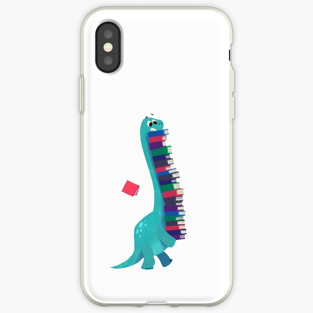 BOOK DINOSAURS 01 iPhone Case & Cover