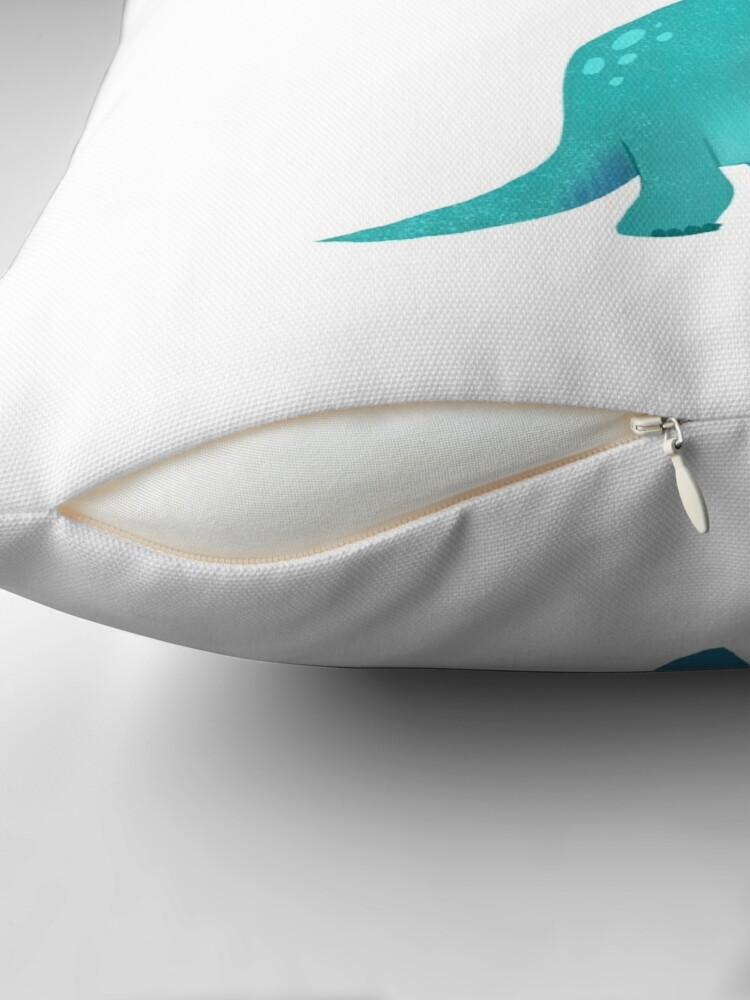 Alternate view of BOOK DINOSAURS 01 Throw Pillow