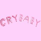 Cry baby balloons pink/pink by Clairie