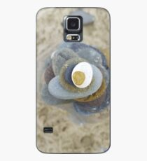 Pebble tower from above Case/Skin for Samsung Galaxy