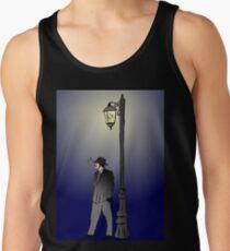 Detective under street lamp Tank Top