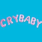 Crybaby balloons pink/blue by Clairie