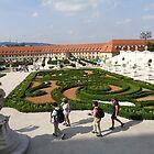Gardens of Bratislava Castle,Slovakia by Ana Belaj
