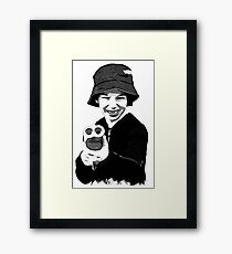 Armed Shooter Boy Framed Print
