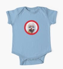 Chica chocoholica Short Sleeve Baby One-Piece