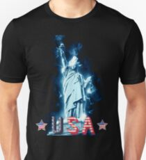 USA Statue of Libery Patriot T-Shirt and Apparel Unisex T-Shirt