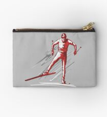 cross-country skiing Studio Pouch