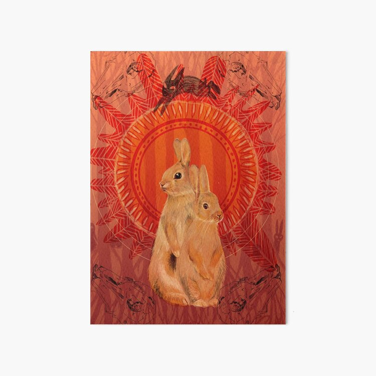 Watership Down- The thousand  Art Board Print