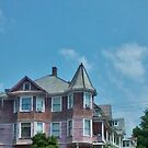 Pink House - New York by clarebearhh