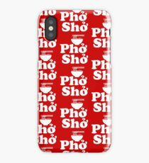 Phở Shở iPhone Case