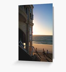 Cottesloe Cafe Greeting Card