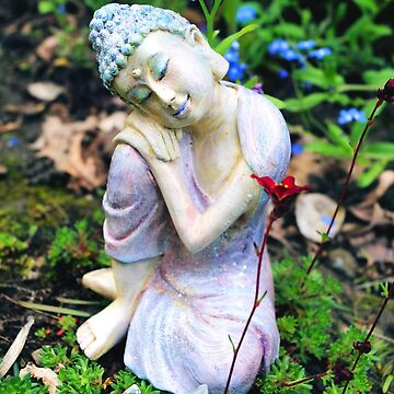 Buddha in the garden 2 by Lilaviolet
