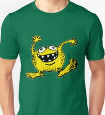 Cute Cartoon Yellow Monster by Cheerful Madness!! Unisex T-Shirt