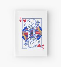 King of Hearts T. rex Hardcover Journal