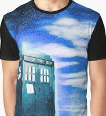 Lonely Tardis Graphic T-Shirt