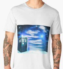 Lonely Tardis Men's Premium T-Shirt