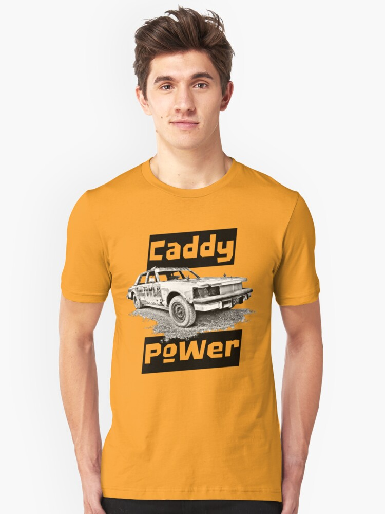 Caddy Power LT Unisex T-Shirt Front