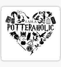 Potteraholic Sticker