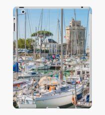 Yachts in the old port of La Rochelle  iPad Case/Skin