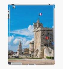 Harbour tower of fortress of La Rochelle iPad Case/Skin