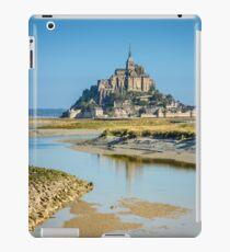 Mont Saint Michel abbey iPad Case/Skin