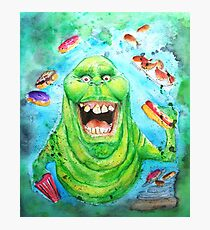 Slimer Ghostbusters Photographic Print