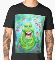 Slimer Ghostbusters Men's Premium T-Shirt