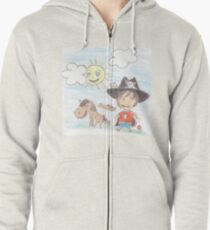 The Great Adventure of Pirate Boy Aaron Zipped Hoodie