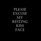 Resting Kim Face by KWestwood