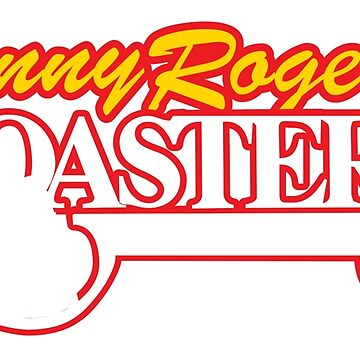 KENNY ROGERS ROASTERS T-SHIRT - Defunct Fast Food Chain Logo by darkvortex