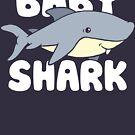 Niedliches Baby Shark T-Shirt von BootsBoots