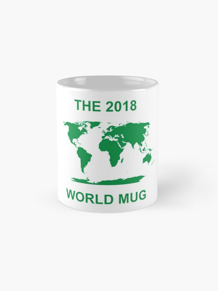 Alternate view of The 2018 World Mug Standard Mug
