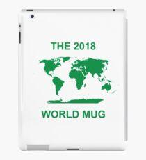 The 2018 World Mug iPad Case/Skin