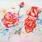 Roses in June by AdrianaMijaiche