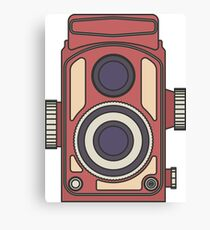 Retro Camera Canvas Print