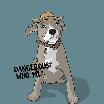 Pitbull Pup by DMJADESIGN