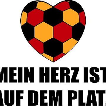 Football World Cup - My heart is in the square by Pferdefreundin