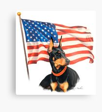 """""""Home of the Brave"""" Metal Print"""