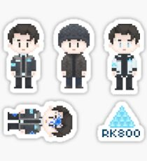 Connor Sprites Sticker