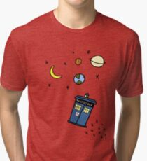 Little Tardis  Tri-blend T-Shirt