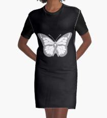 Butterfly - Aphasia Awareness Gift Graphic T-Shirt Dress