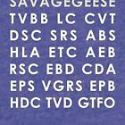 SNAA - Savagegeese Nonsense Automotive Acronyms by SavageGeese