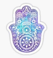 Space Hamsa Hand - I Sticker