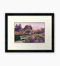 Perennial Splendor  Framed Print