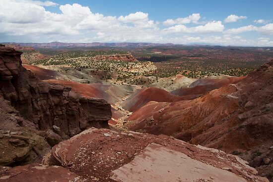 Long Canyon Overlook by Brian Hendricks