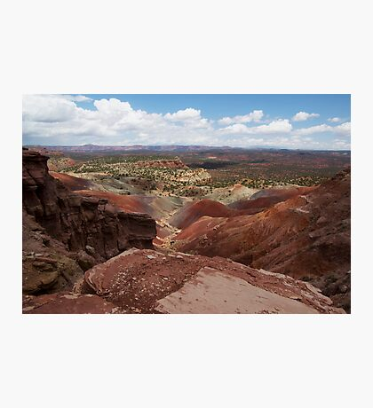 Long Canyon Overlook Photographic Print