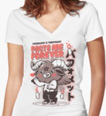 Pacts Are Forever Women's Fitted V-Neck T-Shirt